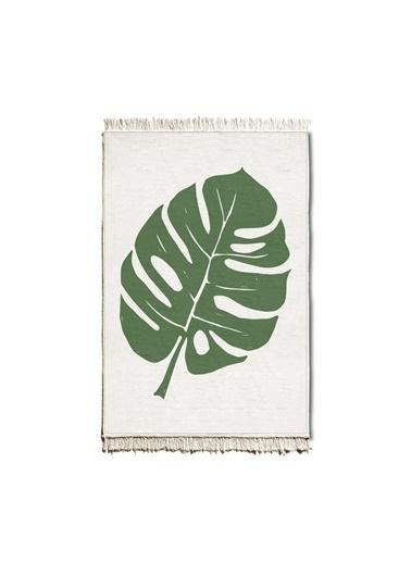 The Mia Kilim 90 x 60 Cm - Çift Taraflı Yeşil